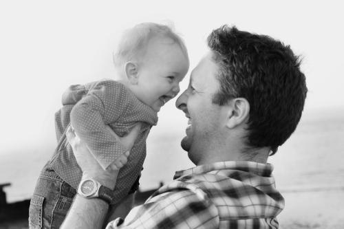 Saskia and her Daddy